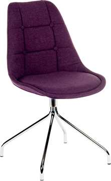 Picture of Office Chair Company Breakout Chair Plum (Boxed and Sold in 2's)