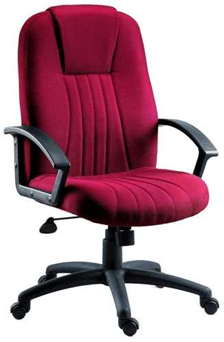 Picture of Office Chair Company City Fabric Burgundy
