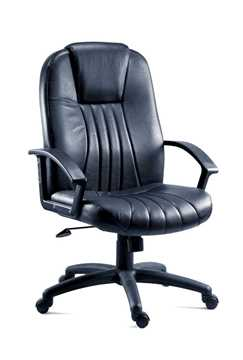 Picture of Office Chair Company City Black Leather