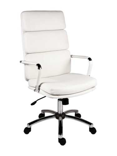 Picture of Office Chair Company Deco Executive White Leather