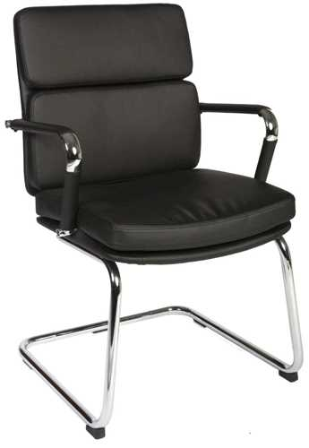 Picture of Office Chair Company Deco Visitor Black Leather