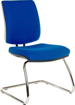 Picture of Office Chair Company Ergo Visitor Deluxe Blue