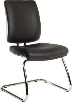 Picture of Office Chair Company Ergo Visitor Deluxe PU Black
