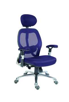 Picture of Office Chair Company Cobham Blue Mesh