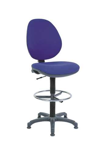 Picture of Office Chair Company Draughter Byron Blue