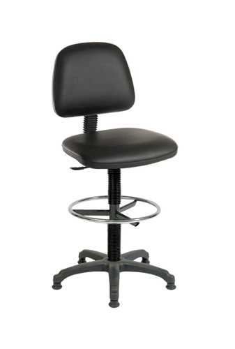 Picture of Office Chair Company Draughter Ergo Blaster PU Black