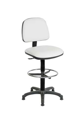 Picture of Office Chair Company Draughter Ergo Blaster PU White
