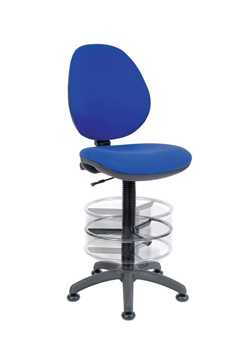 Picture of Office Chair Company Deluxe Draughter Byron Blue