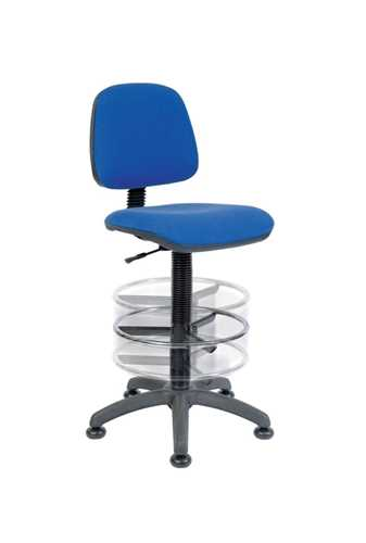 Picture of Office Chair Company Deluxe Draughter Ergo Blaster Blue