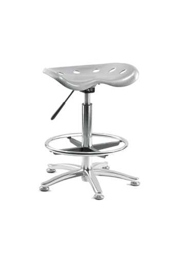 Picture of Office Chair Company Tek Stool Silver