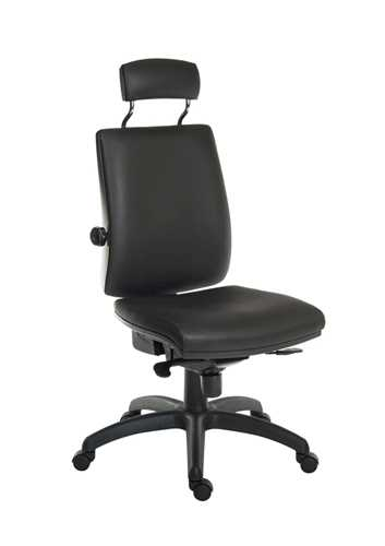 Picture of Office Chair Company Ergo Plus HR  PU Black