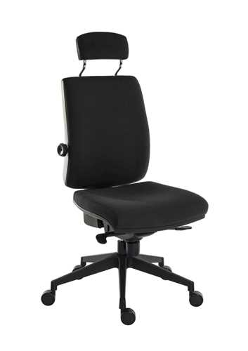 Picture of Office Chair Company Ergo Plus Ultra HR Black