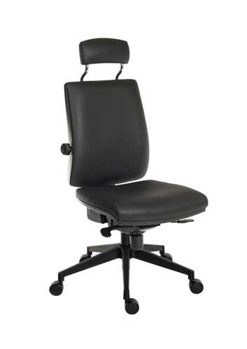 Picture of Office Chair Company Ergo Plus Ultra HR PU Black