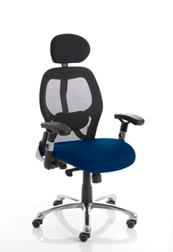 Picture of Office Chair Company Sanderson Bespoke Colour Seat Serene