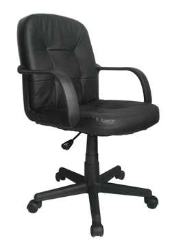 Picture of Office Chair Company Delph Leather Executive Chair Black