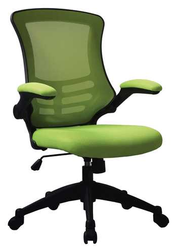 Picture of Office Chair Company Luna Designer Mesh Chair Green