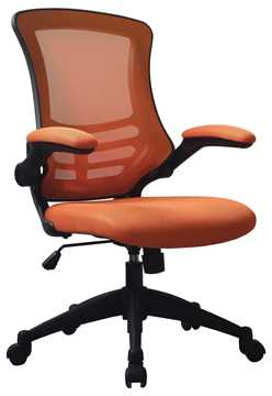 Picture of Office Chair Company Luna Designer Mesh Chair Orange