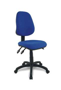 Picture of Office Chair Company Java 300 High back synchronised operator chair - Blue