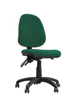 Picture of Office Chair Company Java 300 High back synchronised operator chair - Green