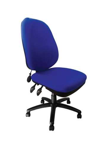 Picture of Office Chair Company Carlisle Pump Up Lumbar Chair - Blue