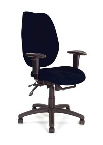 Picture of Office Chair Company Thames High-back multi-fictional operator chair Black