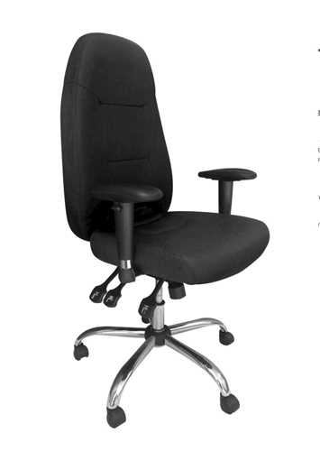 Picture of Office Chair Company BABYLON 24 Hour Operator Chair Black