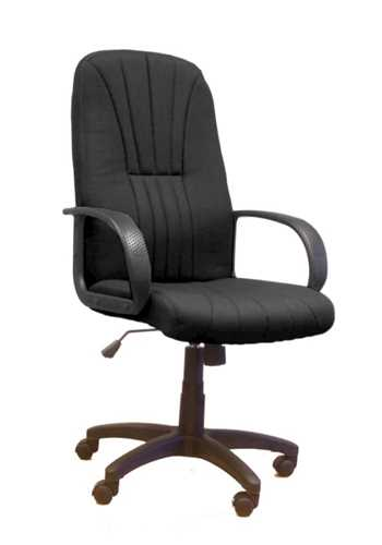 Picture of Office Chair Company Pluto High back executive armchair with sculptured back - Black