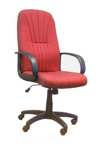 Picture of Office Chair Company Pluto High back executive armchair with sculptured back - Wine
