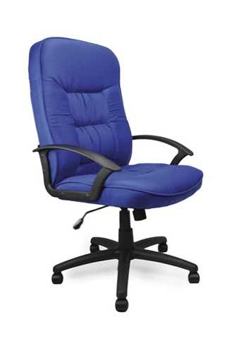 Picture of Office Chair Company Coniston High back fabric armchair - Blue