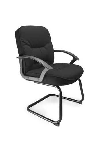 Picture of Office Chair Company Coniston Cantilever framed office chair - Black