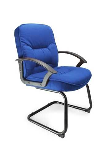 Picture of Office Chair Company Coniston Cantilever framed office chair - Blue