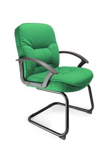 Picture of Office Chair Company Coniston Cantilever framed office chair - Green