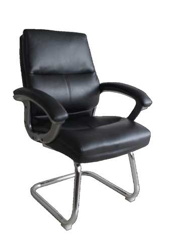 Picture of Office Chair Company Greenwich PU Visitors Chair Black