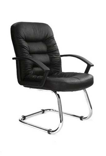 Picture of Office Chair Company Fleet Chrome Cantilever Black