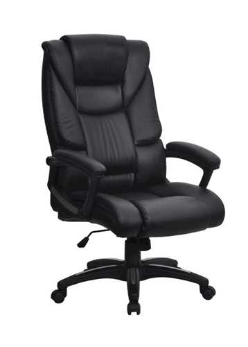 Picture of Titan- High back leather effect executive chair- Black
