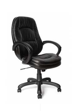 Picture of Office Chair Company Dawson Stylish PU Armchair - Black