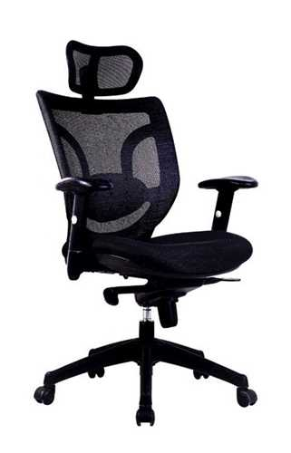Picture of Office Chair Company Newton High Back With Headrest - Black