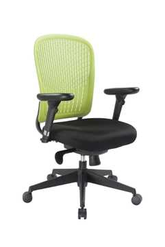 Picture of Office Chair Company E-Last Flexi Back designer Chair - Green