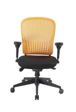 Picture of Office Chair Company E-Last Flexi Back designer Chair - Orange