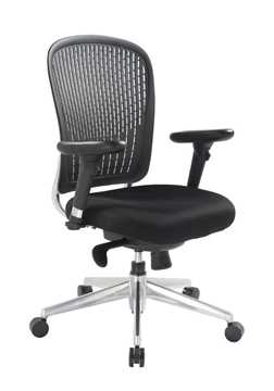 Picture of Office Chair Company E-Last Flexi Back designer Chair - Black