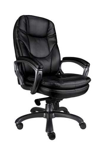 Picture of Office Chair Company Kiev Leather Chair - Black
