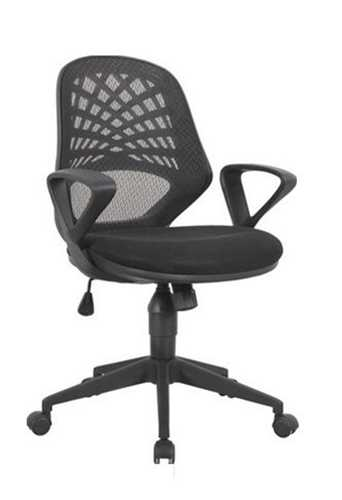 Picture of Office Chair Company Lattice Mesh Back Chair - Black