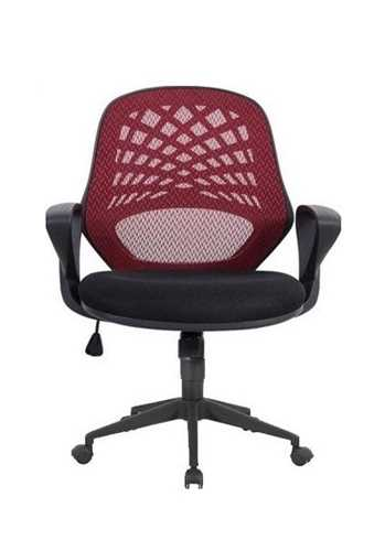 Picture of Office Chair Company Lattice Mesh Back Chair - Red