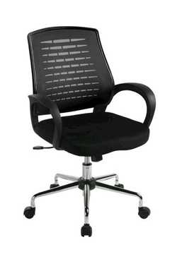 Picture of Office Chair Company Carousel Mesh Chair - Black