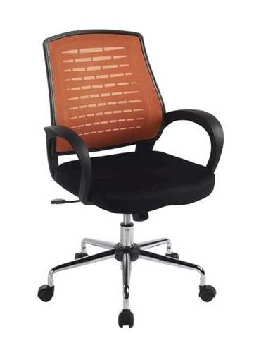 Picture of Office Chair Company Carousel Mesh Chair - Orange