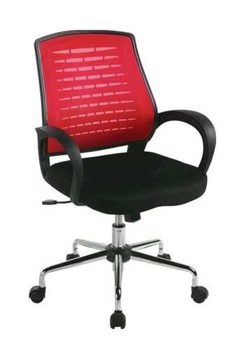 Picture of Office Chair Company Carousel Mesh Chair - Raspberry
