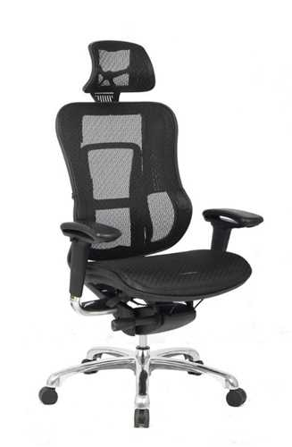Picture of Office Chair Company Aztec Mesh designer executive chair - Black