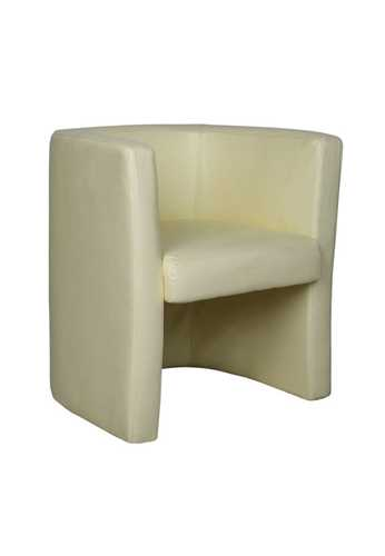 Picture of Office Chair Company Milano Leather Faced Tub Chair - Cream