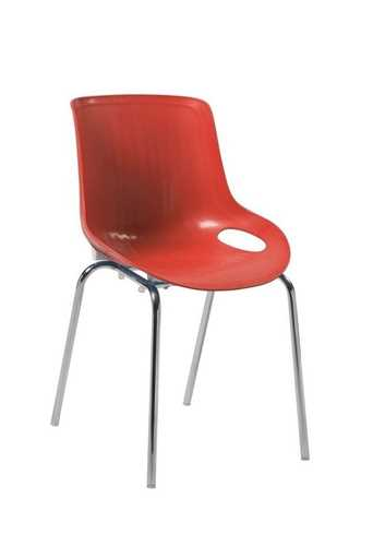 Picture of Office Chair Company Americano Stylish Lightweight Poly Chair - Red ( 2 CHAIRS IN PACK)