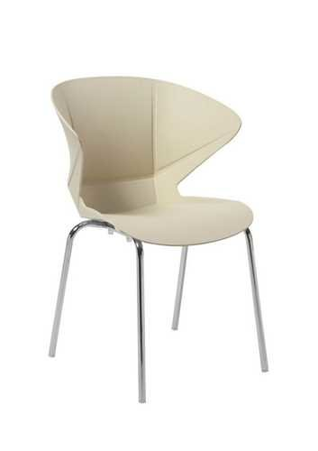 Picture of Office Chair Company Cappuccino Stylish Lightweight Poly Chair - Cream (2 CHAIRS PER PACK)